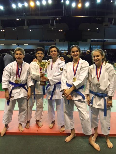 club karate paris 18